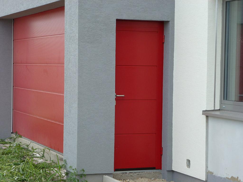 Vedľajšie garážové dvere
